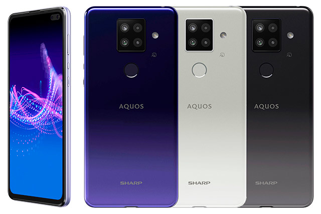Sharp AQUOS sense4 plus